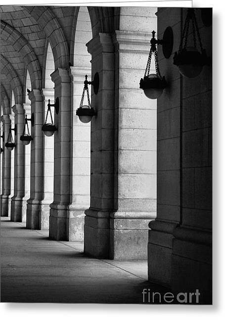 Union Station Washington Dc Greeting Card