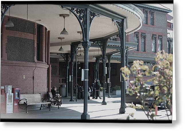 Union Street Station Greeting Card by Patricia Babbitt