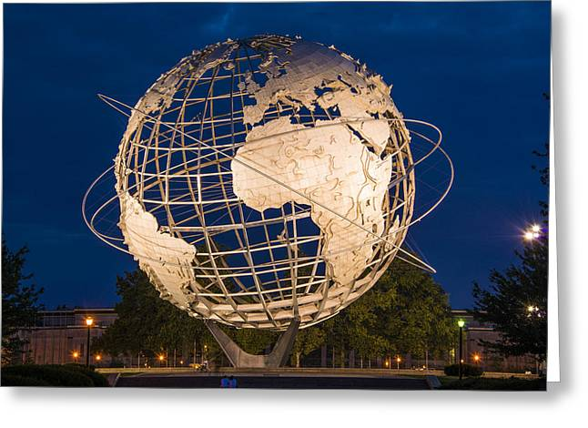 Unisphere Nights Greeting Card