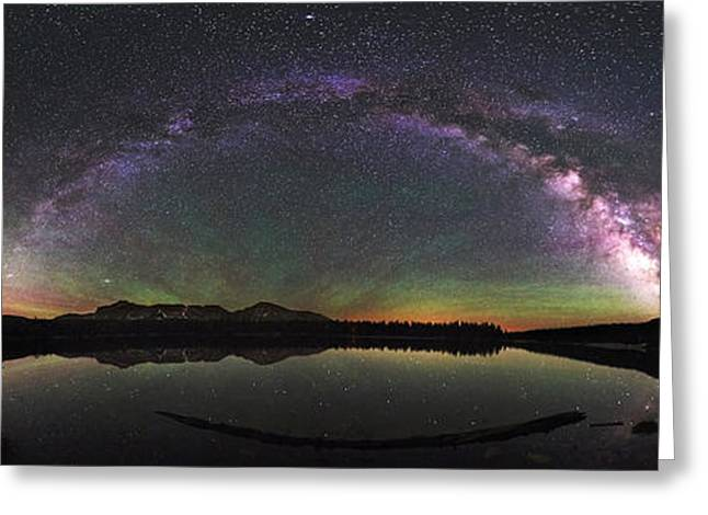 Unitas Milky Way Greeting Card by Andrew Fritz
