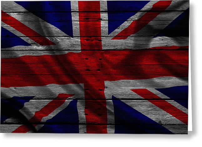 United Kingdom Greeting Card by Joe Hamilton