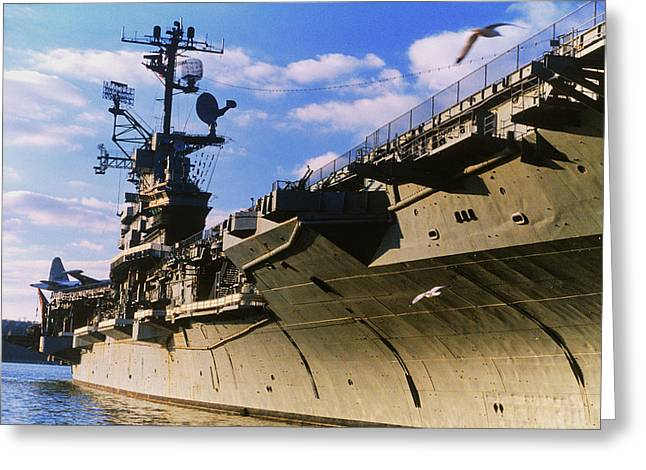 United States Aircraft Carrier, New Greeting Card