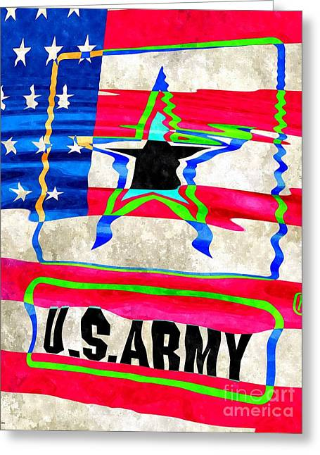 United States Army Greeting Card