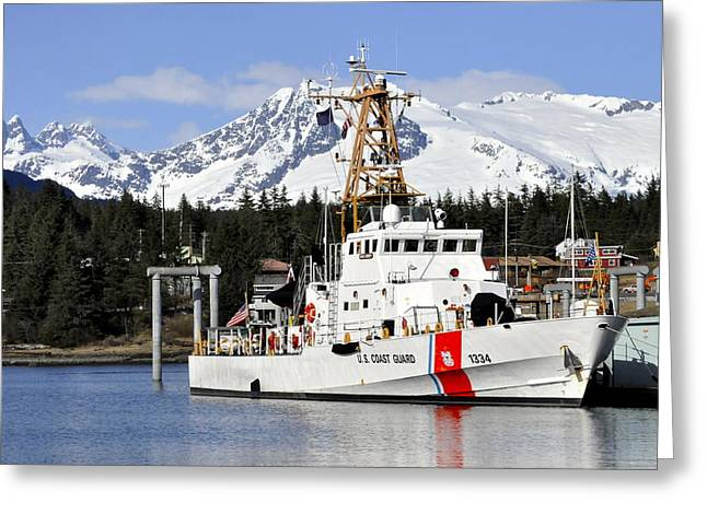 United States Coast Guard Cutter Liberty Greeting Card