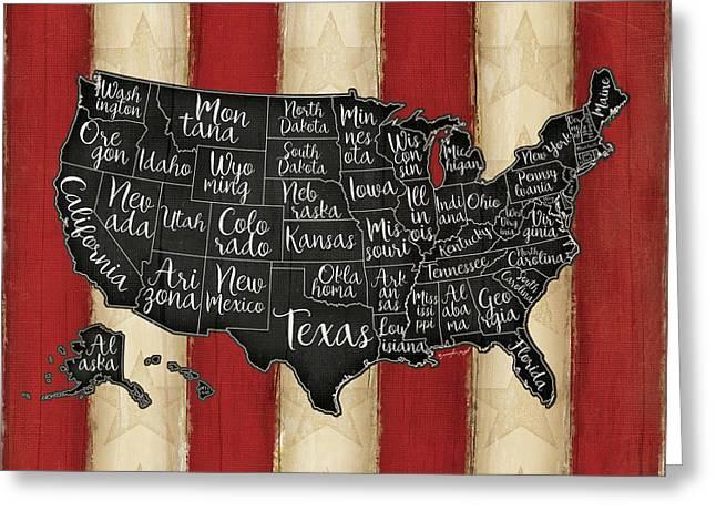 United States II Greeting Card