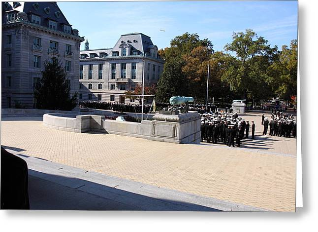 United States Naval Academy In Annapolis Md - 121227 Greeting Card by DC Photographer
