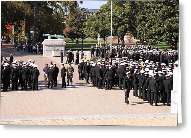 United States Naval Academy In Annapolis Md - 121228 Greeting Card