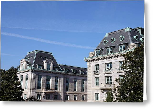 United States Naval Academy In Annapolis Md - 121229 Greeting Card by DC Photographer