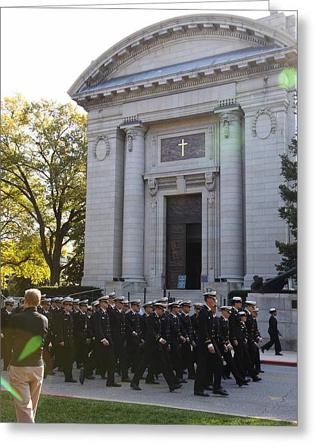 United States Naval Academy In Annapolis Md - 121237 Greeting Card
