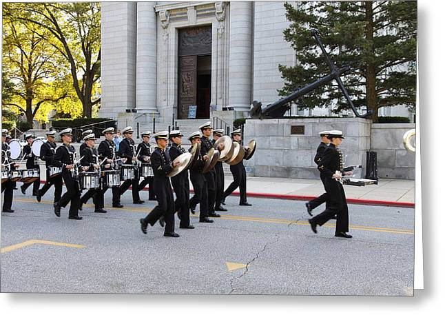 United States Naval Academy In Annapolis Md - 121248 Greeting Card by DC Photographer