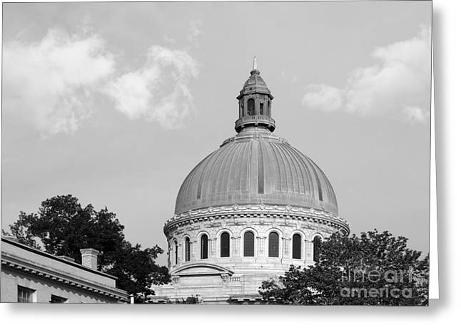 United States Naval Academy Main Chapel Greeting Card by University Icons