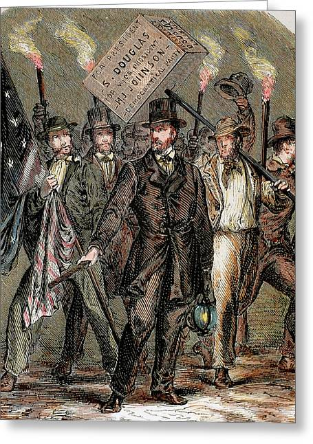 United States Supporters Of Stephen Greeting Card