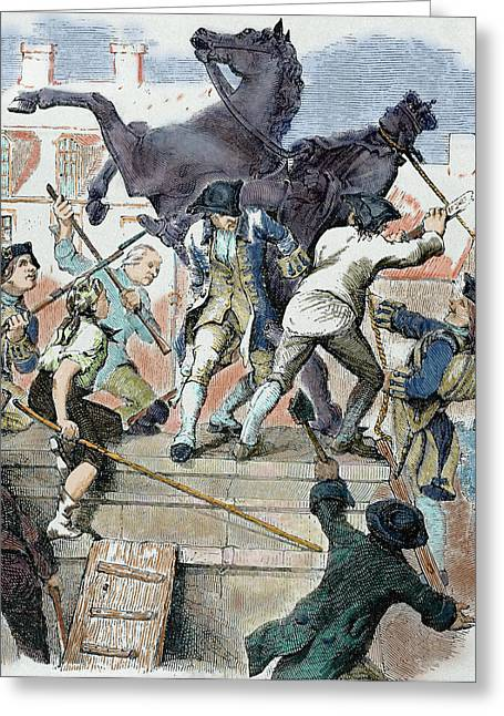 Unites States American War Greeting Card by Prisma Archivo