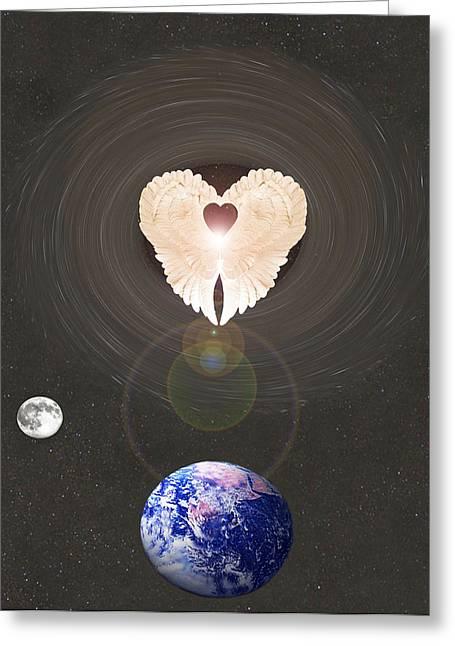 Universal Angel Greeting Card
