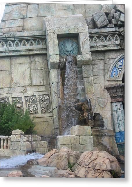 Universal Orlando Resort - 121217 Greeting Card by DC Photographer