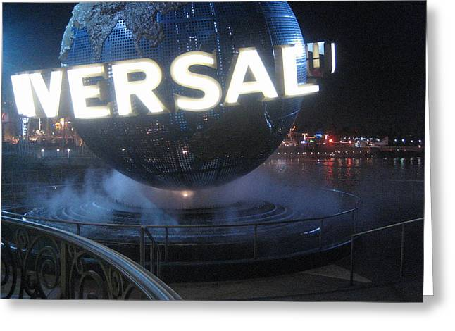 Universal Orlando Resort - 12122 Greeting Card by DC Photographer