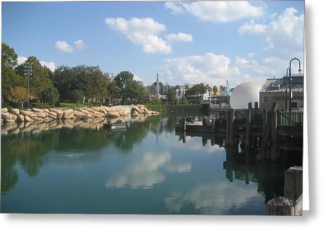 Universal Orlando Resort - 121227 Greeting Card by DC Photographer