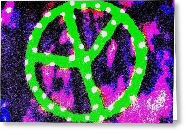 Universal Peace Greeting Card