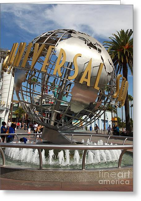 Universal Studios Hollywood California 5d28468 Greeting Card by Wingsdomain Art and Photography