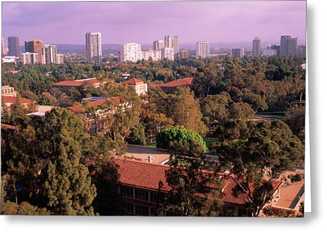 University Campus, University Of Greeting Card by Panoramic Images