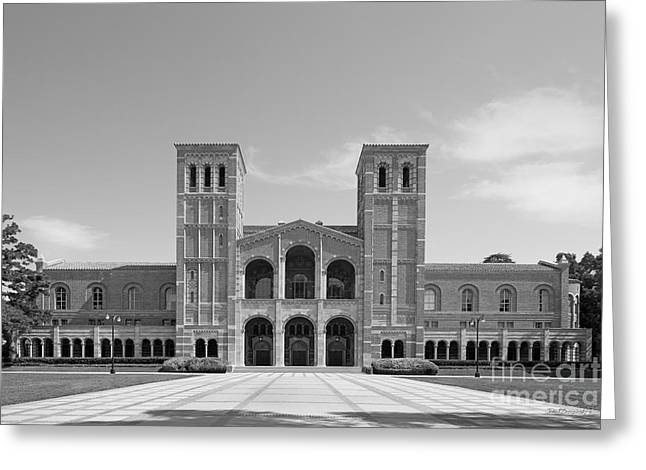 University Of California Los Angeles Royce Hall Greeting Card by University Icons