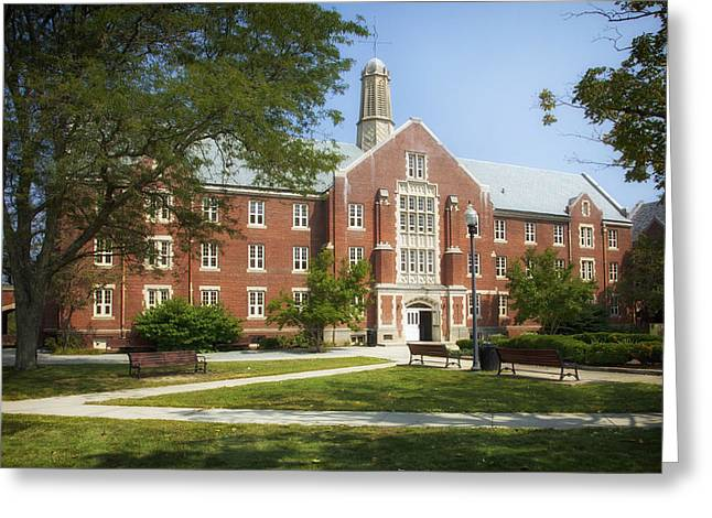 University Of Connecticut Campus Greeting Card by Mountain Dreams