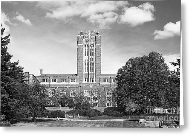 University Of Denver Mary Reed Building Greeting Card by University Icons