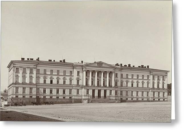 University Of Helsinki, Finland, Daniel Nyblin Greeting Card