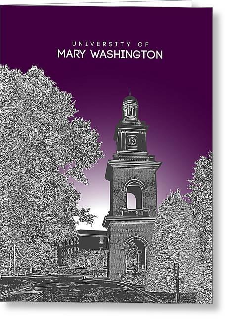 University Of Mary Washington Greeting Card by Myke Huynh