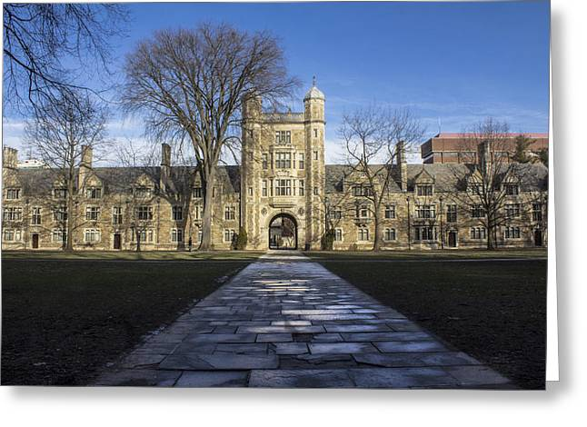 University Of Michigan Campus Greeting Card