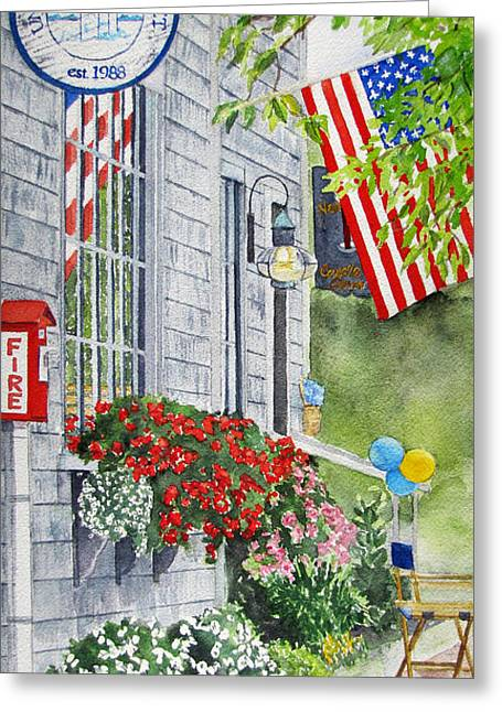 University Of Nantucket Shop Greeting Card