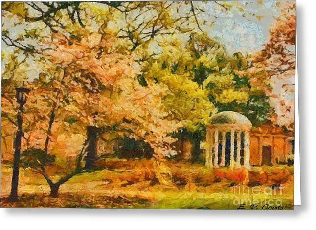 University Of North Carolina  Greeting Card