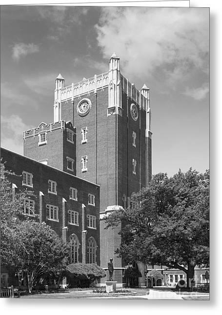 University Of Oklahoma Union Greeting Card by University Icons