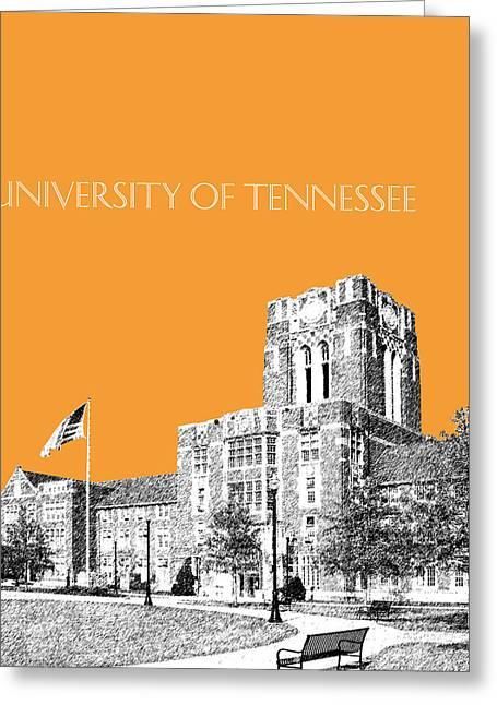 University Of Tennessee - Orange Greeting Card