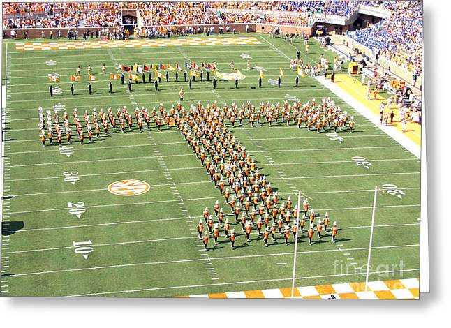 University Of Tennessee Band T  Greeting Card