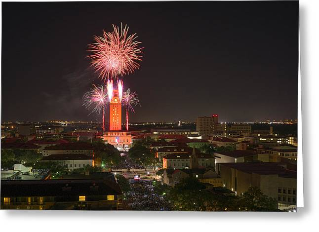 University Of Texas At Austin - Graduation Ceremony 2014 Greeting Card
