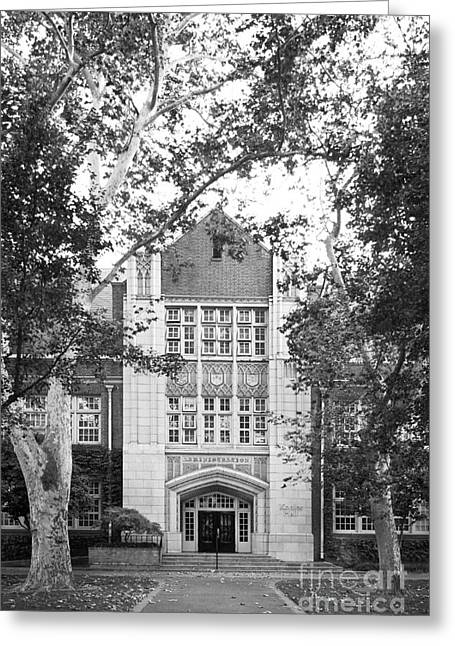 University Of The Pacific - Knoles Hall Greeting Card by University Icons