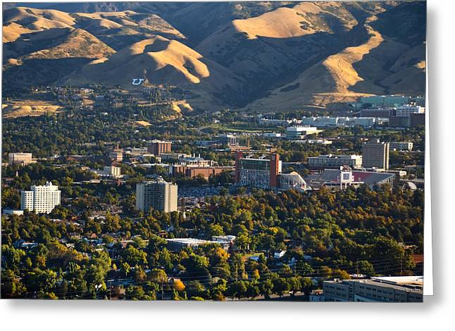 University Of Utah Campus Greeting Card by Utah Images