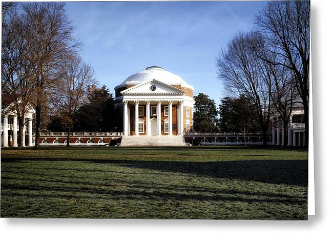 University Of Virginia Rotunda Greeting Card by Mountain Dreams