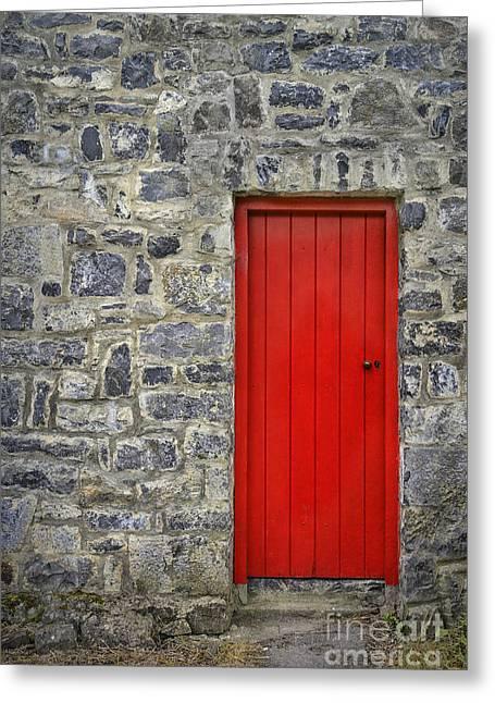 Unlock The Door Greeting Card