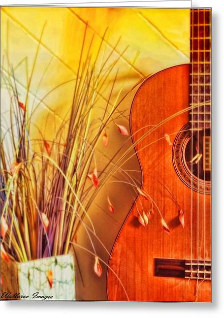 Greeting Card featuring the photograph Unplayed Melody by Wallaroo Images