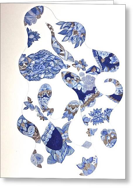 Untitled 10 Greeting Card by Simone Alexandrino