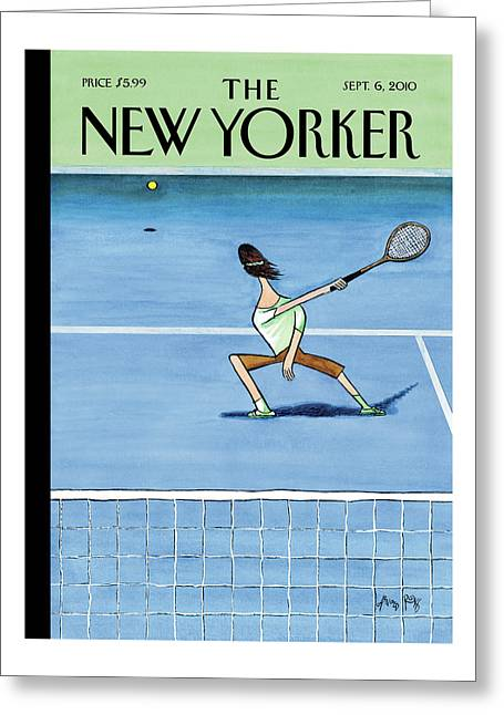 New Yorker September 6th, 2010 Greeting Card