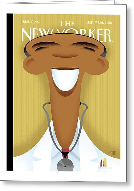 New Yorker July 9th, 2012 Greeting Card