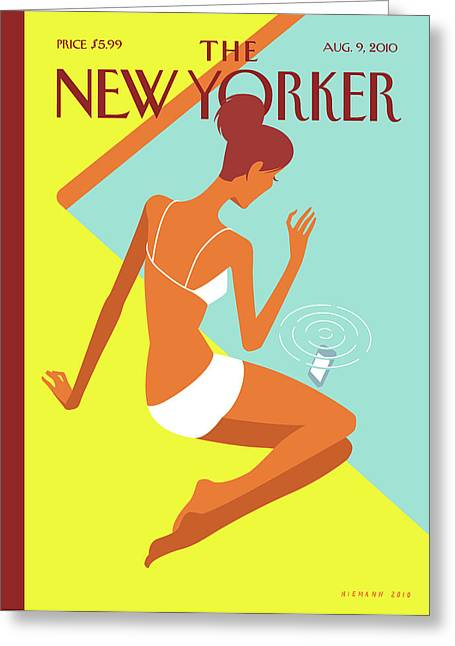 New Yorker August 9th, 2010 Greeting Card