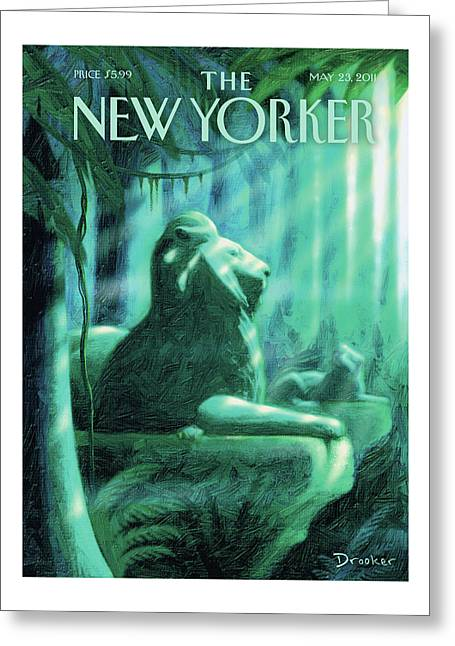 New Yorker May 23rd, 2011 Greeting Card