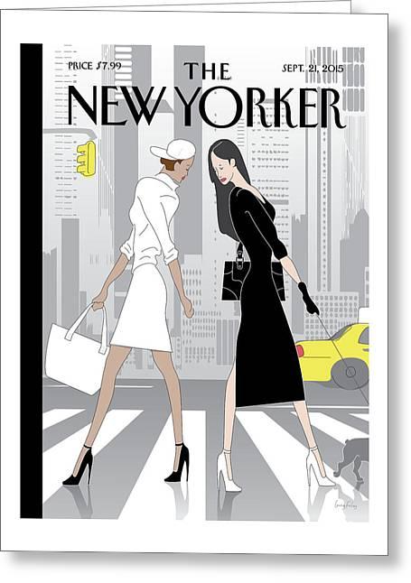 New Yorker September 21st, 2015 Greeting Card