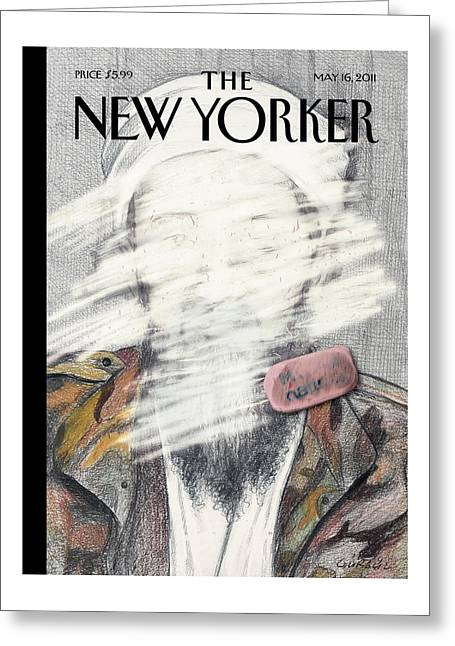 New Yorker May 16th, 2011 Greeting Card