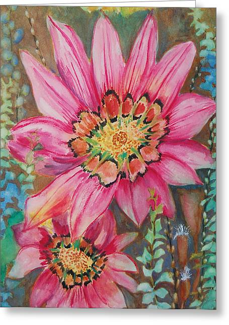 Untitled Greeting Card by Henny Dagenais