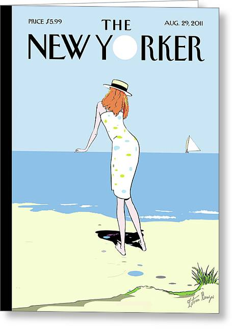 New Yorker August 29th, 2011 Greeting Card